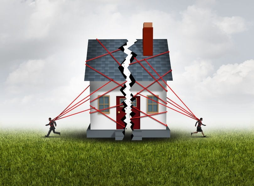 divorce and foreclosure options